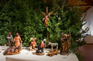 African American Nativity from St. Joseph's Parish in Wilmington, DE