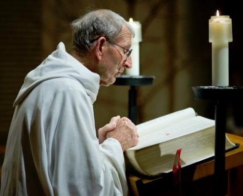 Brother Anthony Maria Odom's Profession of Simple Vows