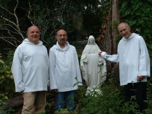 Dave Kearney, John Fahrner and Jose' Vacas