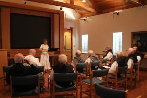 Sister Sara Fairbanks, O.P. speaks on celibacy and chastity