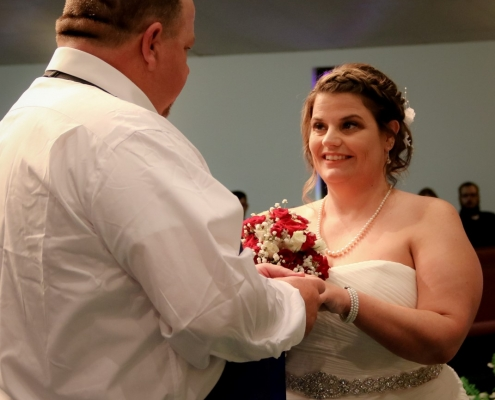Angel Baker, Mepkin's Director of Hospitality weds