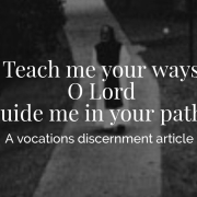 Vocations Discernment Article