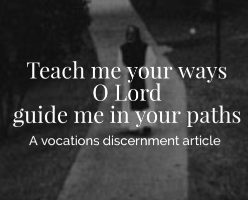 Vocation discernment by Fr. Kevin Walsh, Mepkin's Vocation Director