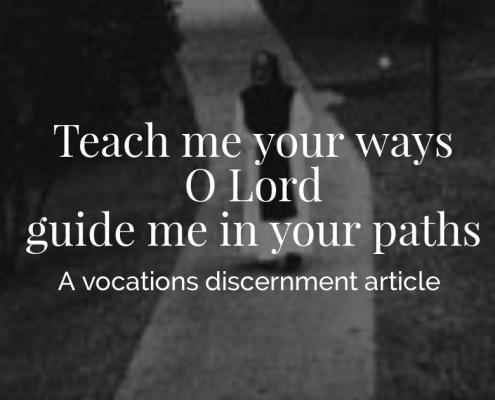 Vocations Discernment Article