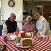 Fr. Columba attends a Canon Law course