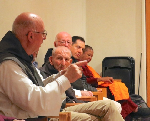 Inter-spiritual Group Discusses the New Monasticism at Mepkin