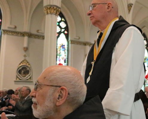 Abbot Stan receives Papal Honor