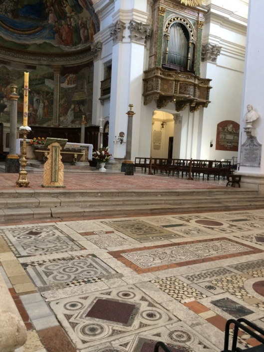 Spoleto Cathedral mosaic floor