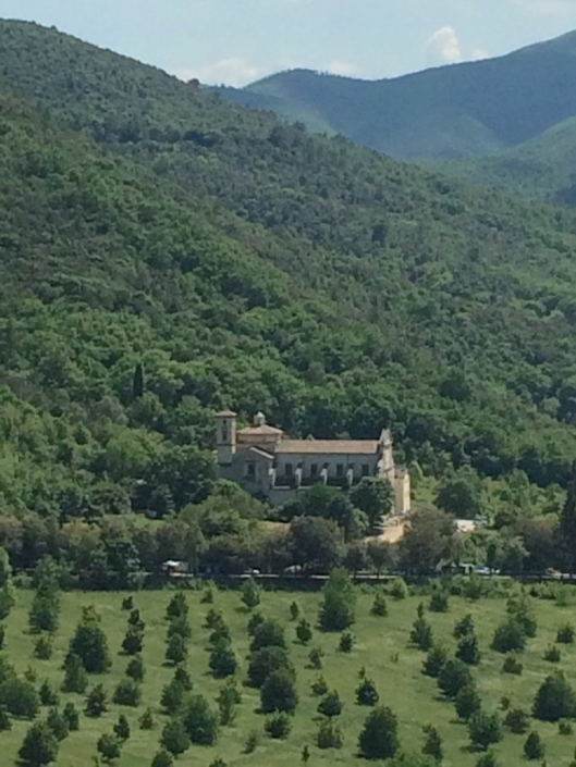 Spoleto – Shrine where St. Francis abandoned the military service.