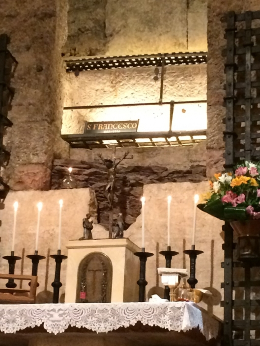 The tomb of St. Francis of Assisi