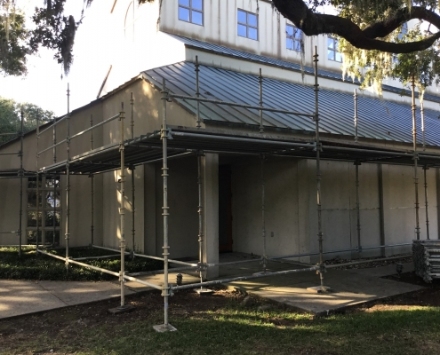 Mepkin Church Renovations Starting
