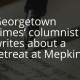 Georgetown Times' columnist writes about a retreat at Mepkin