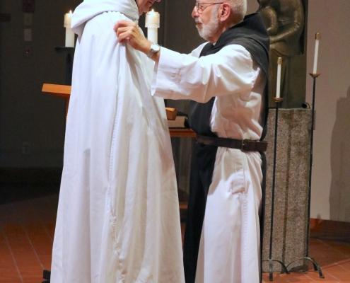 Fr. Columba takes simple vows