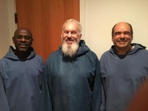 Three Observers Visit Mepkin