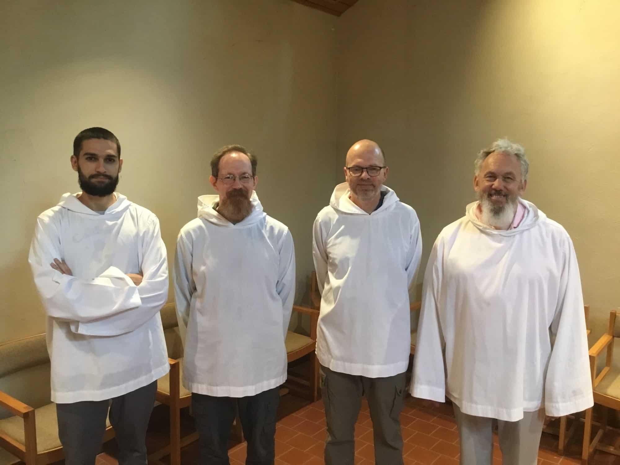 Mepkin Abbey has four new postulants