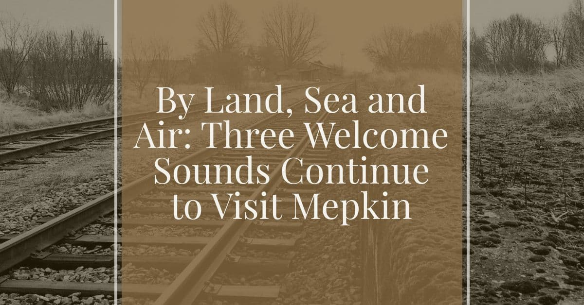 By Land, Sea and Air: Three Welcome Sounds Continue to Visit Mepkin