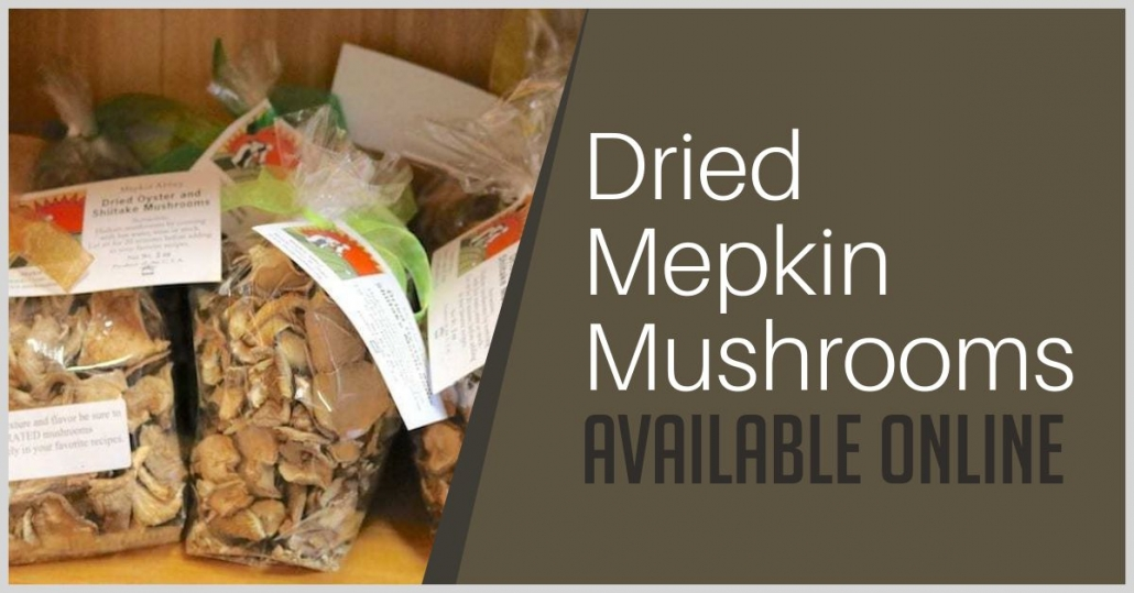 Dried Mepkin Mushrooms