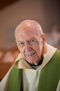 Fr. Richard McGuire died peacefully at Mepkin