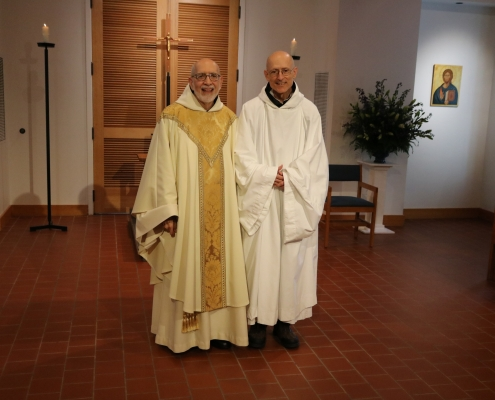 Brother Juan Makes Final Profession