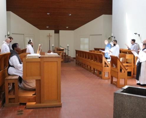 Monks Return to the Monastic Church