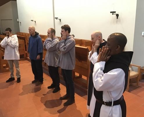 Monks Take Music Lessons