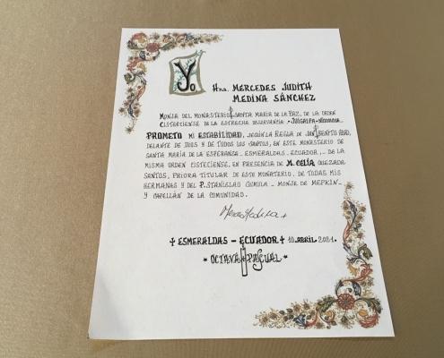 News from Esmeraldas