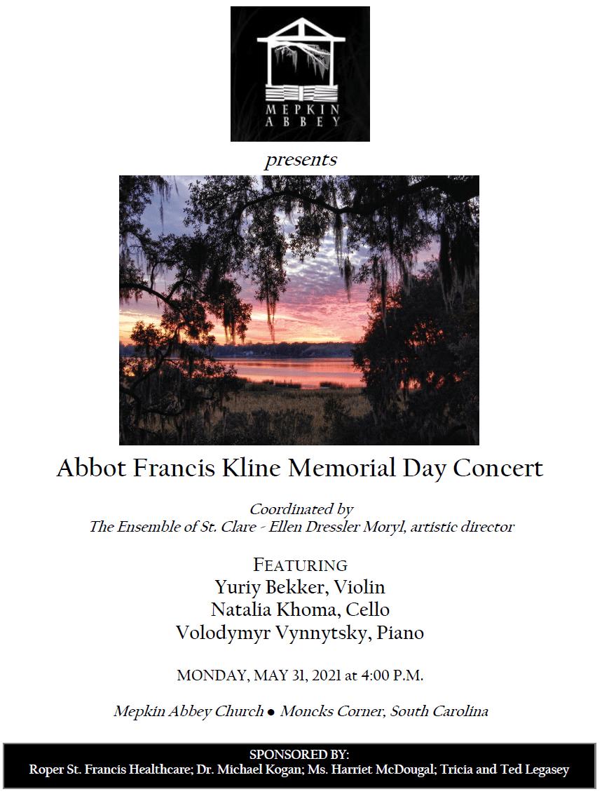 Abbot Francis Kline Memorial Day Concert