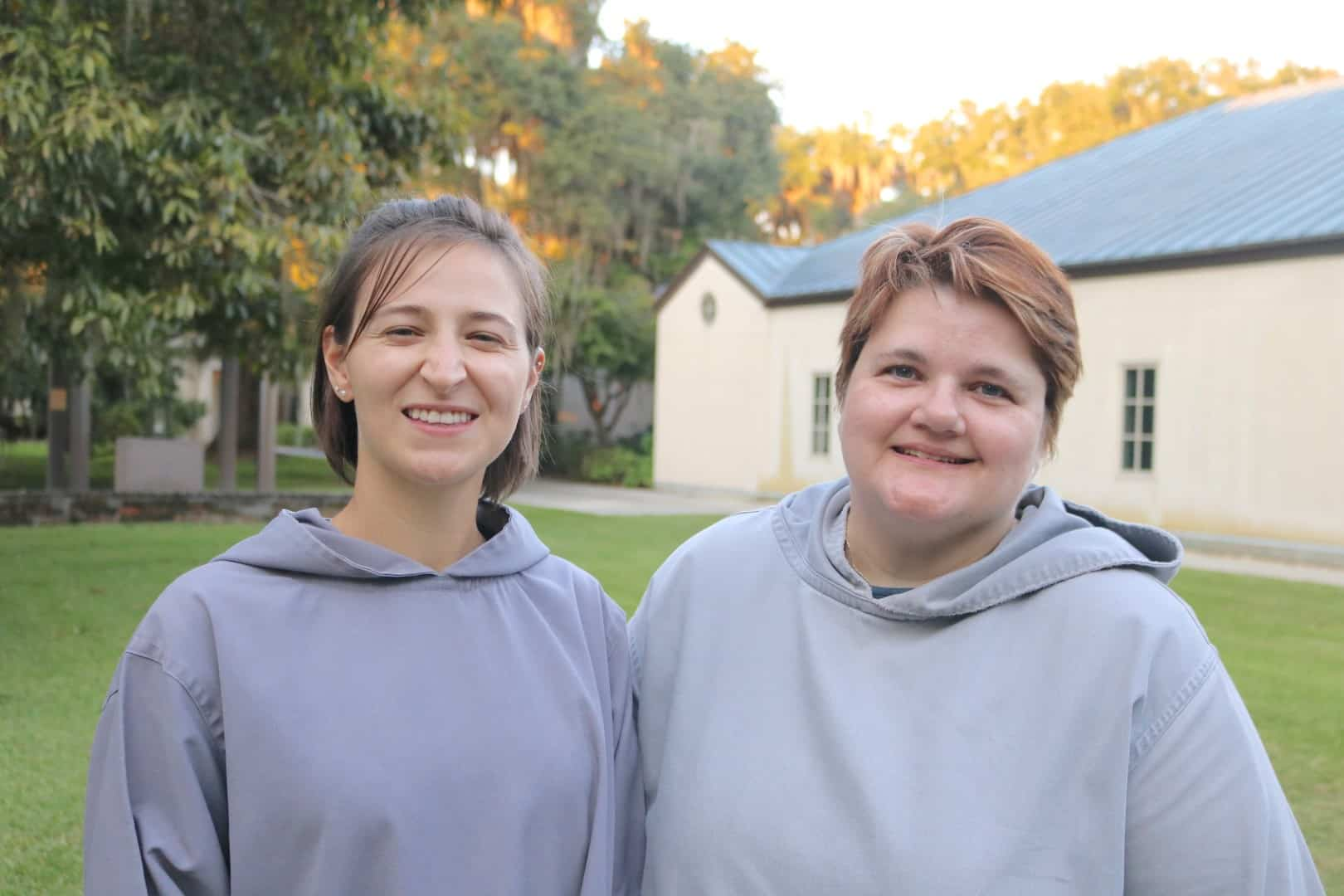 Tara and Emma: Just completed the Monastic Guest Program.